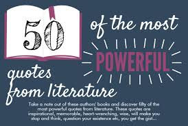 Literature Quotes Delectable 48 Of The Most Powerful Quotes From Literature Mick's Leadership Blog