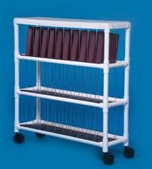 Mobile Chart Rack Ipu Ncr30 L Mckesson Medical Surgical