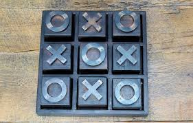 Naughts And Crosses Wooden Game Gorgeous Artwood Wooden Noughts Crosses Home Decor Gift The Gift Loft