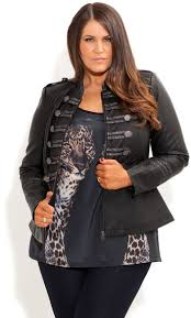 plus size leather jackets collection for womens 1