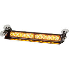LED Dashboard Mount Strobe Light Bar Buyers Products Company Bar-8891024