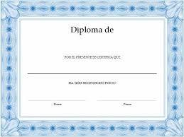 Formato Para Crear Diplomas Formatos De Diplomas Decoupage Y