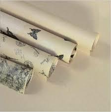 <b>10pcs</b>/lot 50*70cm Vintage <b>Prints Craft</b> Paper Christmas <b>Kraft</b> ...