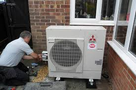 heat pump installation. Fine Pump Air Source Heat Pump Installation By RGV Engineering4 To