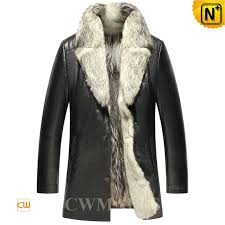 fur leather coat cw855587 cwmalls com