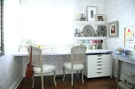 work office decor. Chic Office Decor Gorgeous Shabby Home Offices And Craft Rooms Within Work N