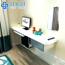 wall computer desk wall mount computer desk computer desk for small apartment double bedroom desktop wall