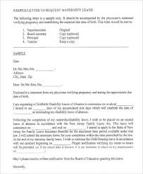 29 Leave Letter Formats Sample Templates