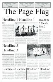 Blank Newspaper Templates Free Sample Example Format For Blank ...