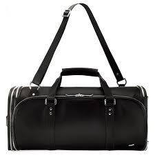 vocier f35 travel duffel bag leather black duffel bags all luggage luggage