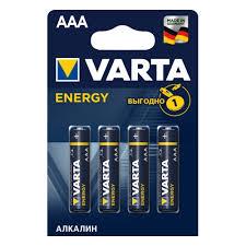 <b>Элемент питания</b> VARTA <b>Energy</b> LR03 AAA бл 4 — купить в ...
