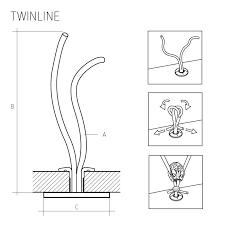 Ropeye Twinline soft padeye 4 with carbon pad [RE-TWL4-C ...