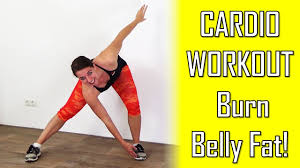 20 minute beginners cardio workout to lose belly fat belly fat burning cardio exercises at home