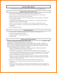 Executive Assistant Resume Objective 100 administrative assistant objective sample time table chart 69