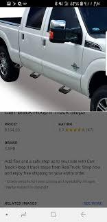 universal side steps for truck(black) 4 steps for Sale in National ...