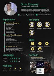 Cool Graphic Design Resumes Graphic Designer Cv Sample Pdf Design Examples Creative