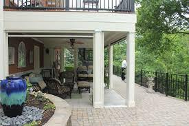 Under Deck Patio Designs Using The Space Under Your Second Story Deck Stoett