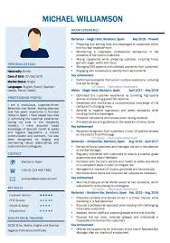 Having a great curriculum vitae is an important part of successful job hunting. How To Write A Cv For Jobs In Spain With Spanish Cv Examples Cv Nation