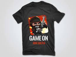 minimiltia tshirt