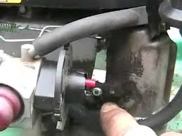how to tecumseh lawnmower speed and governor adjustments - small ...