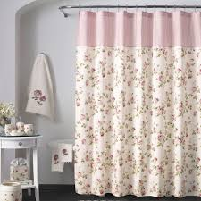 floral shower curtain. Rosalie Shower Curtain Ivory 70 X 72 Floral :