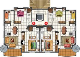 luxury apartment floor plans 3 bedroom.  Bedroom 3 Bedroom Penthouse Apartment  Luxury Apartments In Majorca Zinnia  For Floor Plans E