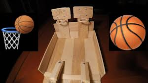 Wooden Basketball Game DIY TABLE BASKETBALL GAME YouTube 26