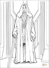 Small Picture Anakin Skywalker coloring page Free Printable Coloring Pages