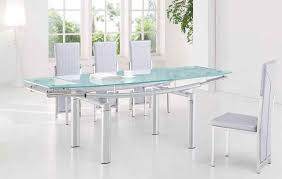 Frosted glass dinning table Wonderful Fabulous Glass Extendable Dining Table Set Extending Glass Dining Table Ingeflinte Bgfurnitureonline Fabulous Glass Extendable Dining Table Set Extending Glass Dining