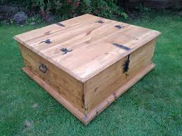 refurbished antique pine blanket box old wooden trunk pine coffee table wooden pine chest