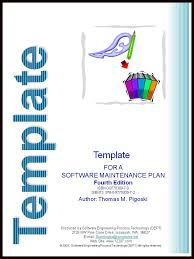 software maintenance template for a software maintenance plan fourth edition