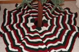 Christmas Tree Skirt Crochet Pattern Delectable Free Crochet Christmas Tree Skirt Pattern