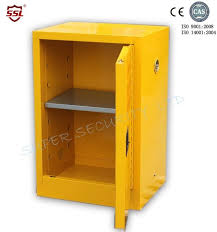 metal storage cabinet. China Metal Chemical Flammable Solvent Storage Cabinet / Heavy Duty Lockable Supplier L