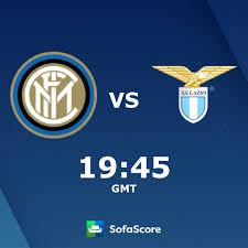 Inter Lazio live score, video stream and H2H results - SofaScore