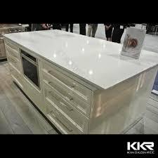 30mm thickness artificial quartz stone kitchen countertop