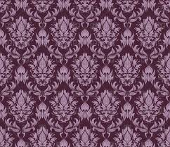 Vintage Wallpaper Patterns Impressive Purple Seamless Vintage Wallpaper Pattern Vector Image Vector