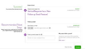 email followup new automatic follow up emails more new features