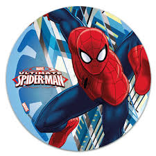 Edible Cake Topper Spiderman Wall Décorelief