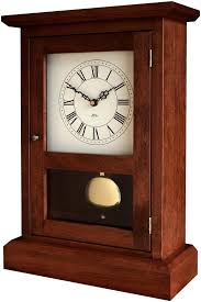 shaker mantel clock quartz