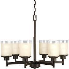 appealing progress lighting alexa combine with alexa 25 in 6 light antique bronze etched 5 chandelier to inspire your