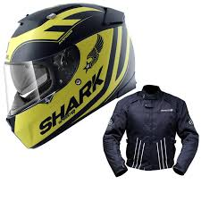 shark sd r avenger helmet yellow free jacket full face helmets ghostbikes com