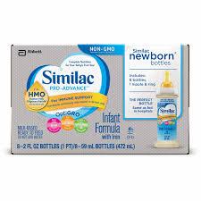 Similac Pro Advance Infant Formula Ready To Feed 59ml 1 Box Of 8 Bottles