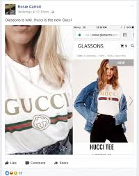 gucci queen shirt. one facebook user saw the funny-side of likeness posting: \u0027glasson is gucci queen shirt s