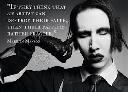 School Of Rock Quotes Enchanting QuoteIf They Think An Artist Can Destroy Their FaithMarilyn