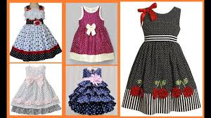 Latest Baby Frock Design 2016 Polka Dot Dress Design For Kids Girl Baby Girls Frock Ideas 2019 20