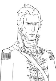 Small Picture President Andrew Jackson coloring page Free Printable Coloring Pages