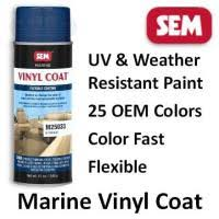 Sem Marine Vinyl Coat Color Chart Products Color Chart