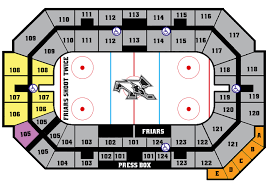 Seating Chart Providence Dunkin Donuts Center Friars Forever Athletic Fund