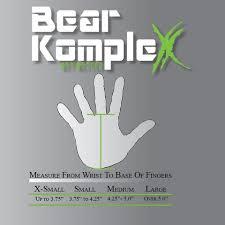 Sizing Charts Bear Komplex