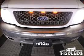 2001 Ford F150 Led Light Bar 1997 2003 Raptor Style Grille Led Lights F150leds Com